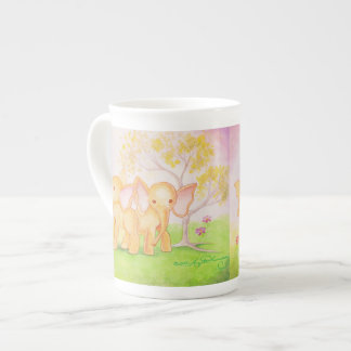 Friends Are Wonderful--Elephants Know! Tea Cup