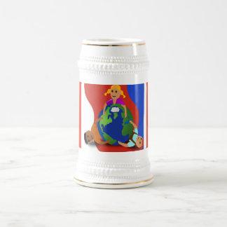 Friends Around the World - Beer Stein