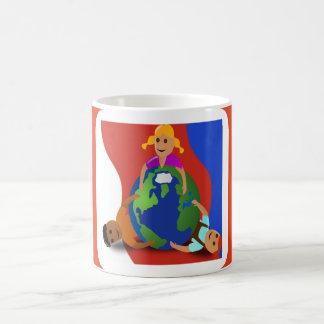 Friends Around the World - Coffee Mug