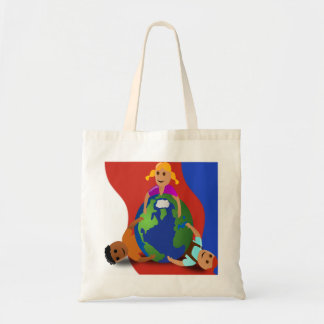 Friends Around the World - Tote Bag