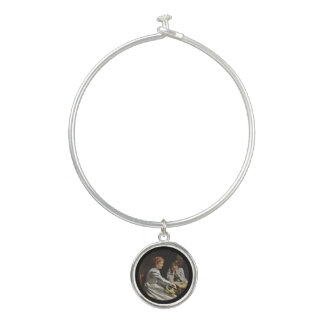 Friends at the Table Bangle Bracelet