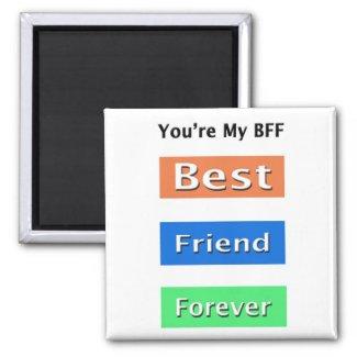 Friends Best Friend Forever Magnet