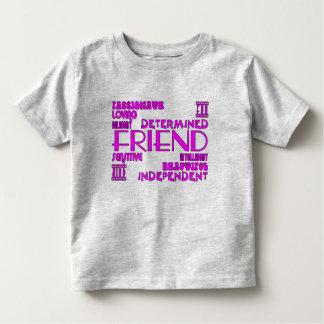 Friends Birthday Parties & Christmas : Qualities T-shirt
