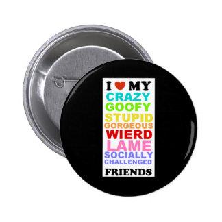 friends-black button