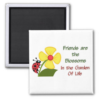 Friends Blossom Magnet