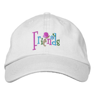 Friends Butterfly Embroidered Baseball Cap