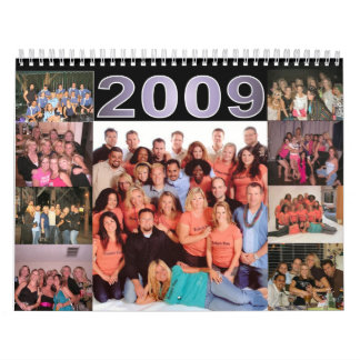 Friends Calendar 2009