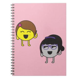 Friends call notebook