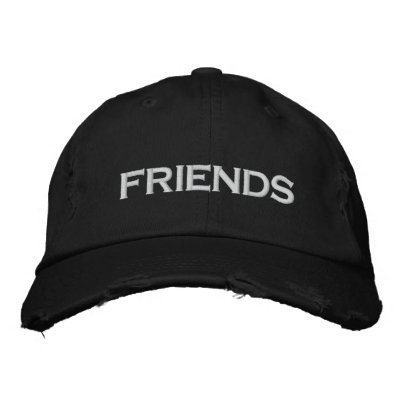 Friends Cap Embroidered Hats
