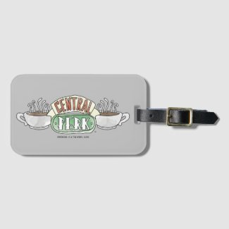 FRIENDS™ | Central Perk Watercolor Logo Luggage Tag