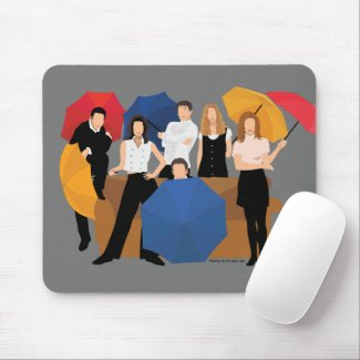 FRIENDS™ Character Silhouette Mouse Pad