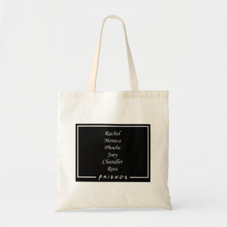Friends Characters Tote Bag