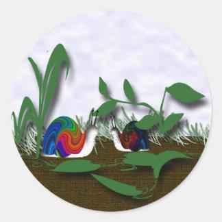 Friends Classic Round Sticker