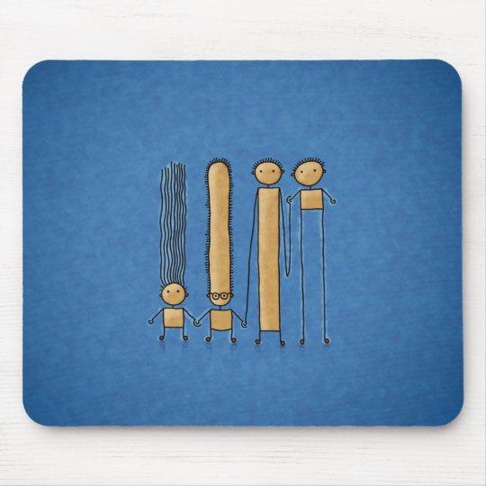 Friends (Color 2) Mouse Pad