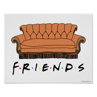 FRIENDS™ Couch Poster