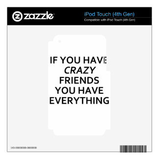 friends decal for iPod touch 4G