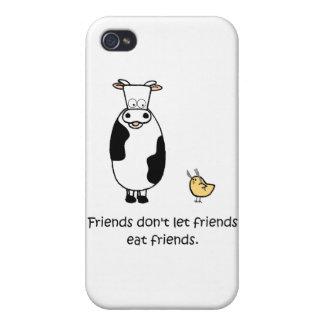Friends Don t Let Friends Eat Friends iPhone 4/4S Cases
