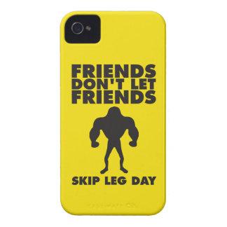 Friends Don t Let Friends Skip Leg Day iPhone 4 Case-Mate Cases