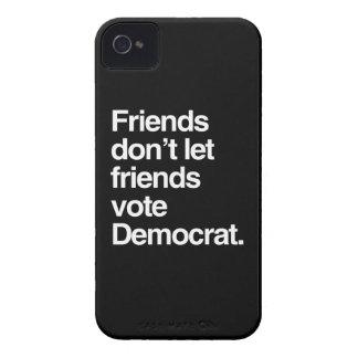 FRIENDS DON T LET FRIENDS VOTE DEMOCRAT - png Blackberry Case