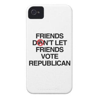 FRIENDS DON T LET FRIENDS VOTE REPUBLICAN - png Blackberry Bold Case