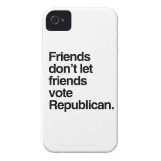 FRIENDS DON T LET FRIENDS VOTE REPUBLICAN - - png Blackberry Case