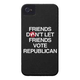 FRIENDS DON T LET FRIENDS VOTE REPUBLICAN png Blackberry Case