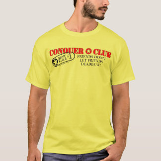 Friends Don't Let Friends Deadbeat T-Shirt