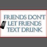 friends don 39 t let friends text drunk trucker hat zazzle. Black Bedroom Furniture Sets. Home Design Ideas