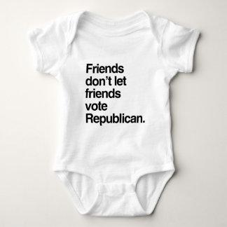FRIENDS DON'T LET FRIENDS VOTE REPUBLICAN -.png Tees