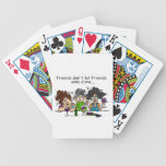 Friends Don't Let Friends Wine Alone Bicycle Playing Cards