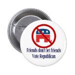 Friends Don't Let Round Button