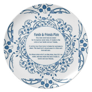 Friends & Family Plate 2