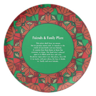 Friends & Family Plate 4