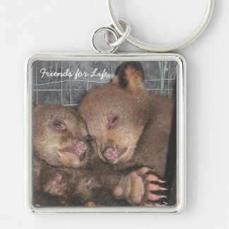 Friends for Life Keychain