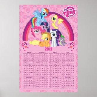 Friends Forever 2012 Calendar Poster print