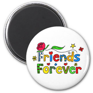 Friends Forever 2 Inch Round Magnet
