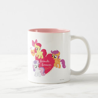 Friends Forever 3 Two-Tone Coffee Mug