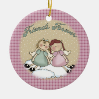 Friends Forever Angels Christmas Ornament