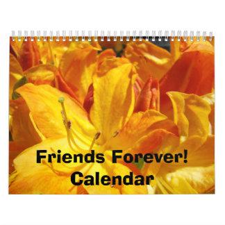 Friends Forever! Calendar Azaleas Rhodies Flowers