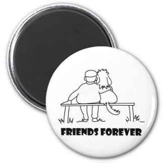 Friends Forever Customizable Gifts 2 Inch Round Magnet