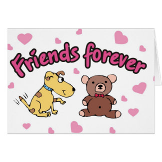 Friends Forever! Greeting Card