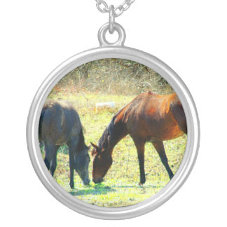 Friends Forever Horse Necklace