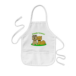 Friends Forever Kids' Apron