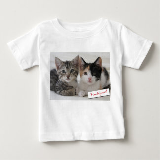 Friends Forever Kittens Outfits Baby T-Shirt