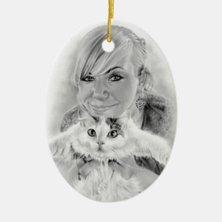 Friends forever Kitty Ornament