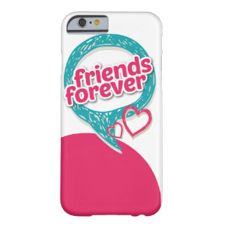 Friends Forever Love hearts <3 Barely There iPhone 6 Case