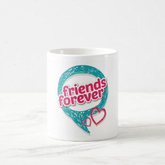 Friends Forever Love hearts <3 Coffee Mug