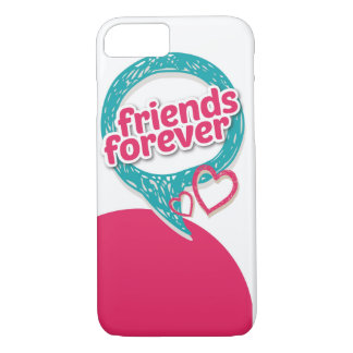 Friends Forever Love hearts <3 iPhone 8/7 Case