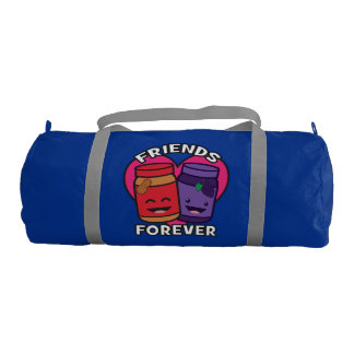 Friends Forever - Peanut Butter And Jelly Kawaii Duffle Bag
