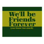 Friends forever post cards